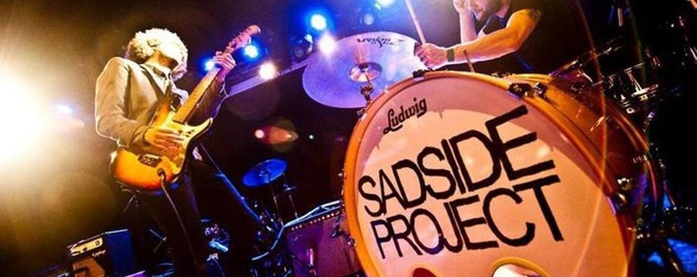 Mercoledì scatta «Rock sul Serio» L'esordio è con i Sadside Project