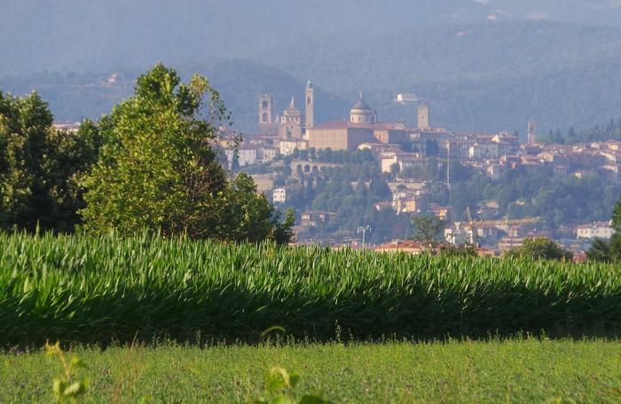 Cappa di caldo ormai da diversi giorni a Bergamo