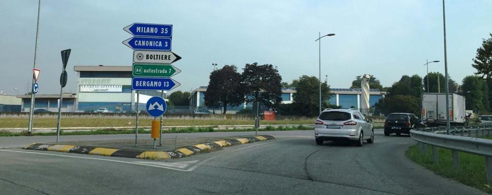 La superstrada da Bergamo a Treviglio Pedaggio 1,20 euro. Meglio 19 rotonde?