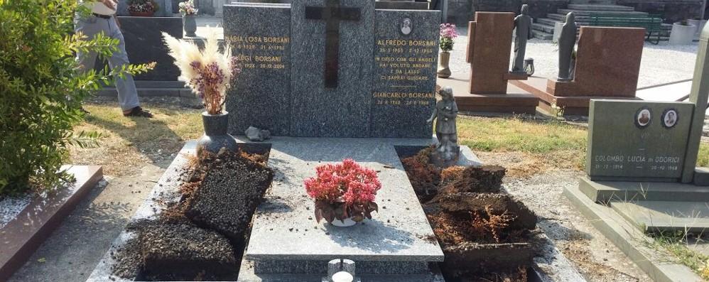 Ladri di rame senza alcuna pietà Razziate anche le tombe di due bimbi