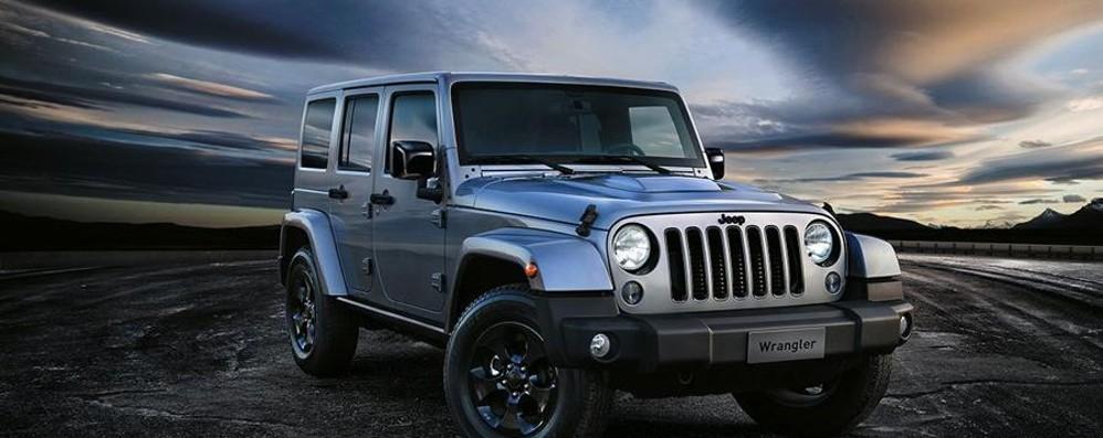 Nuova Jeep Wrangler Arriva la Black Edition