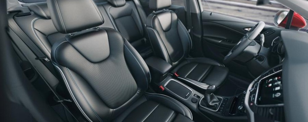 Nuova Opel Astra  Una seduta wellness