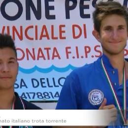 Pesca trota torrente, è bergamasco il campione italiano under 18