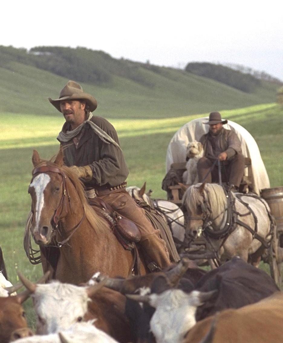 Scene da film western