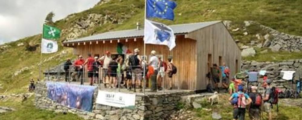 Inaugurato all'Alpe Azzaredo il nuovo rifugio Marco Balicco