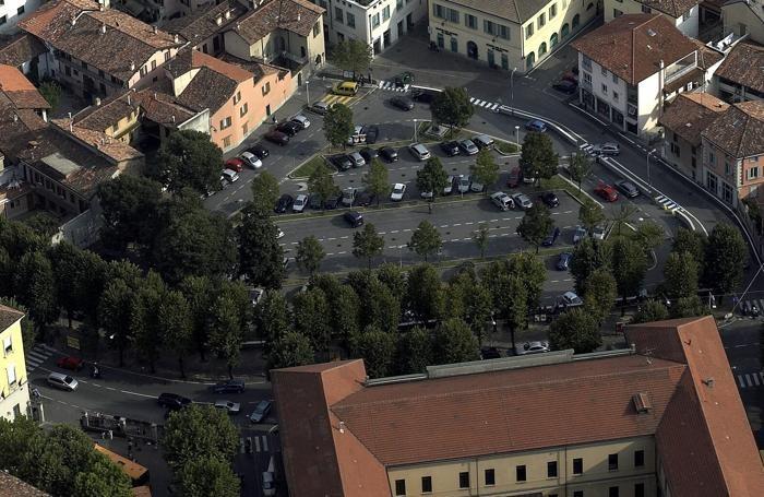 Piazza Setti a Treviglio