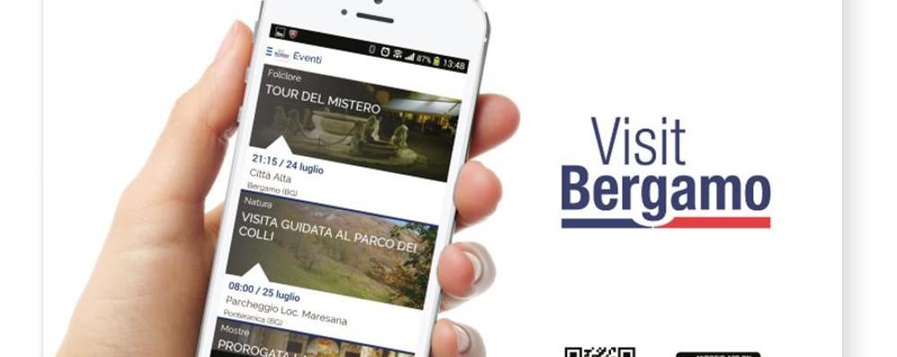 Ecco l'App gratuita «VisitBergamo»: 2.500 punti d'interesse con la mappa