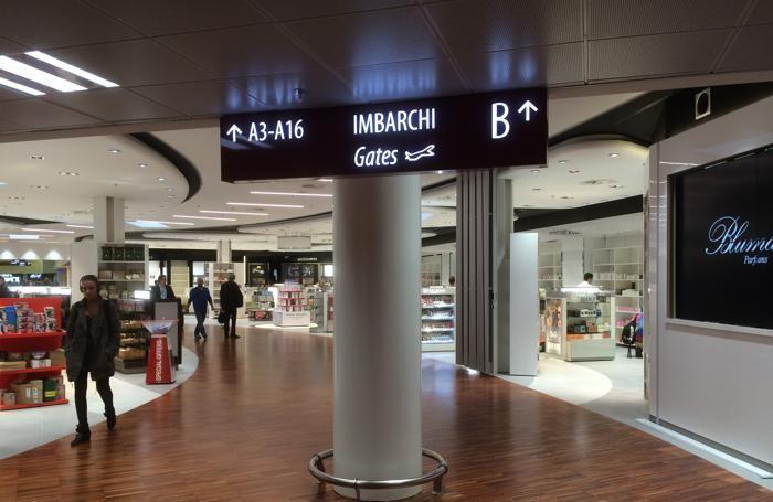 Le nuove aree dell'aeroporto di Orio al Serio