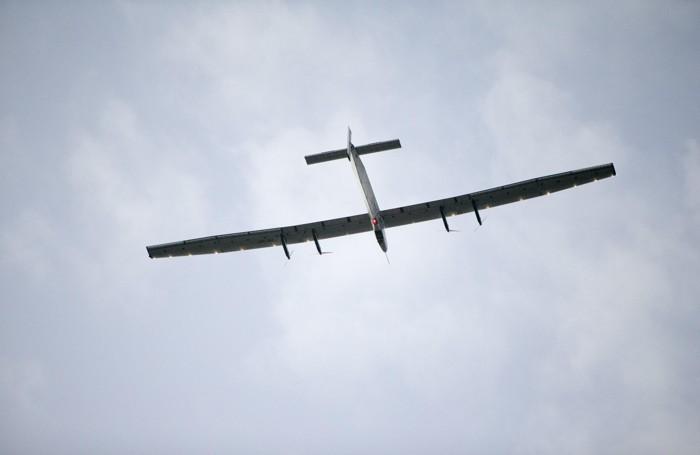 Il  Solar Impulse 2 in volo