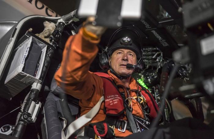 Andre Borschberg sul Solar Impulse 2