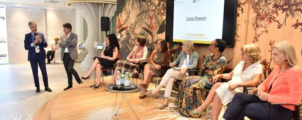 Expo, le donne in prima fila nella progettazione sostenibile