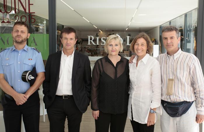Da sinistra Alborghetti, Gori, Maioli, Nusiner, Vegini