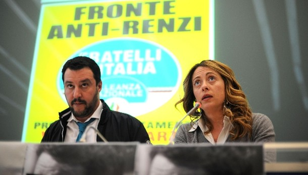 Lega-FdI, lavoro per alternativa a Renzi
