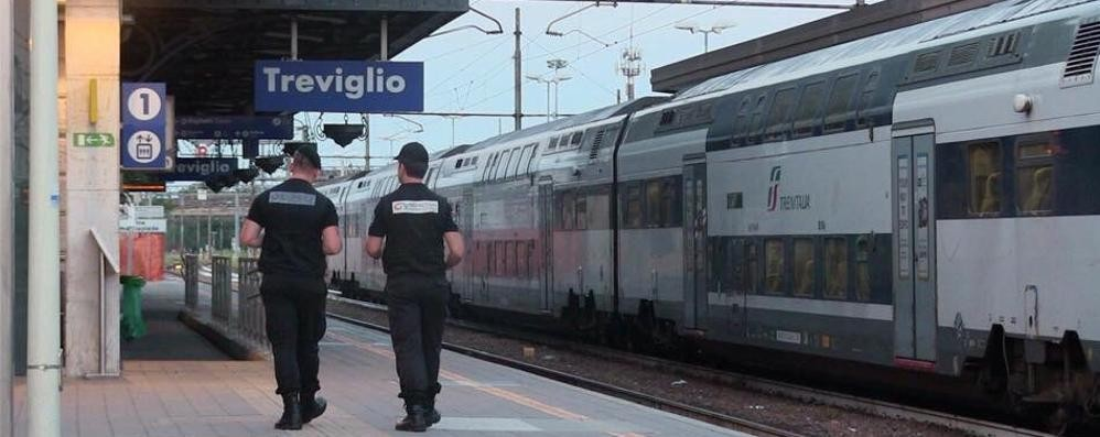 Sicurezza, guardie giurate in servizio  alle stazioni di Bergamo e Treviglio