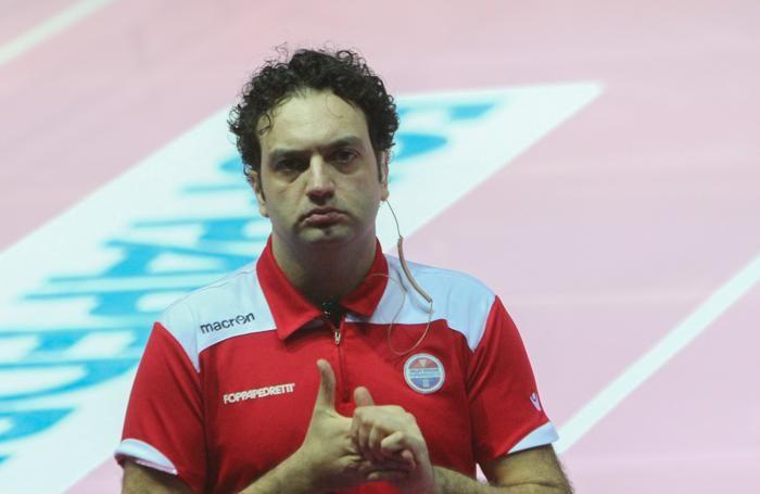 Il tecnico Stefano Lavarini