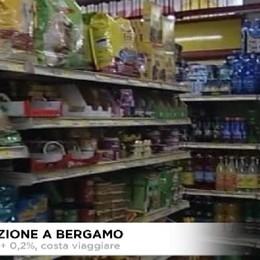 Prezzi al consumo a Bergamo.A luglio +0,2.