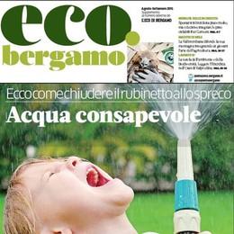 Risparmiare acqua e tagliare la bolletta Lunedì gratis con L'Eco l'inserto-guida