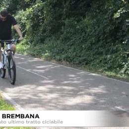 Valle Brembana. Inaugurato ultimo tratto ciclabile.
