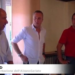Calcio, la presentazione dell'AlzanoSeriate