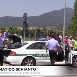 Drammatico schianto sulla ex statale 42, muore 68enne di Cenate Sotto