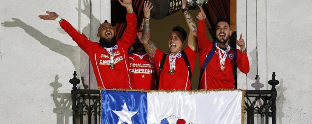 Anche Pinilla in trionfo con il Cile Vittoria storica in Coppa America