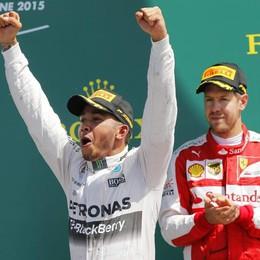 F1: Hamilton domina a Silverstone Vettel è terzo grazie alla pioggia