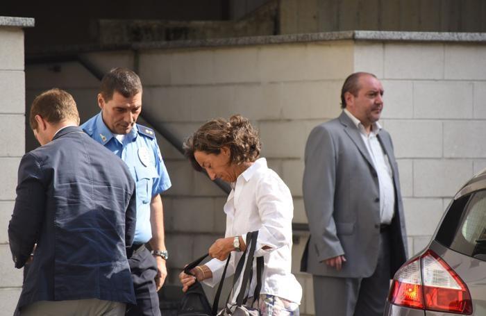 Il pm Letizia Ruggeri arriva in tribunale