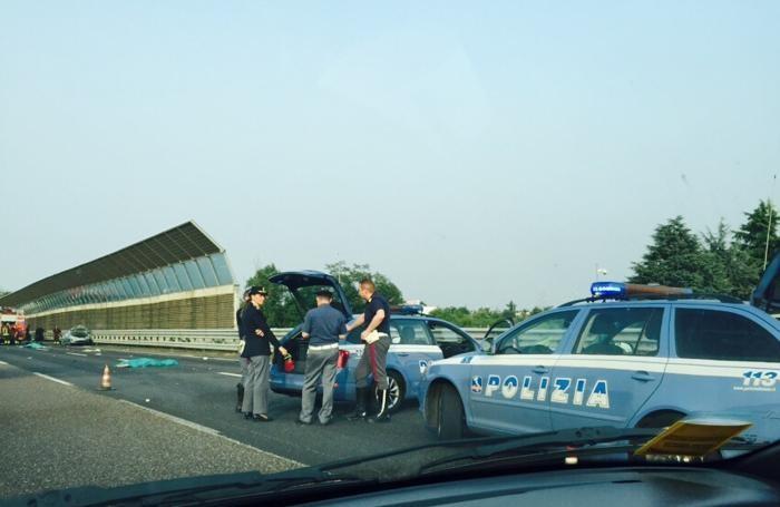 Tragico incidente sull'autostrada A4: due morti