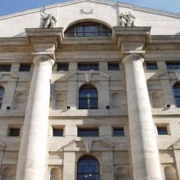 La Borsa di Milano chiude a -4% Banche ko: Ubi e Banco Popolare -6,5%