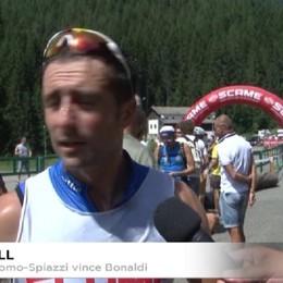 Skiroll, Sergio Bonaldi, dell'Esercito, vince la Gromo-Spiazzi