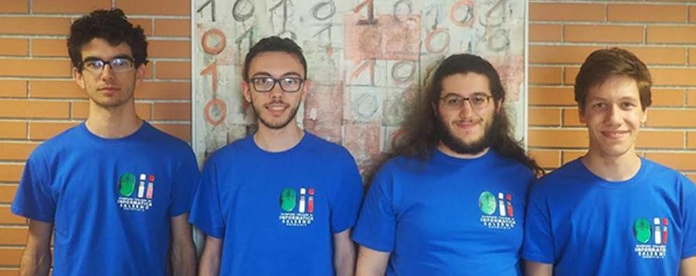 Informatica, nell'Italia Olimpica c'è anche Marco del «Lussana»