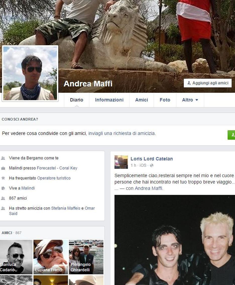La pagina di Andrea Maffi