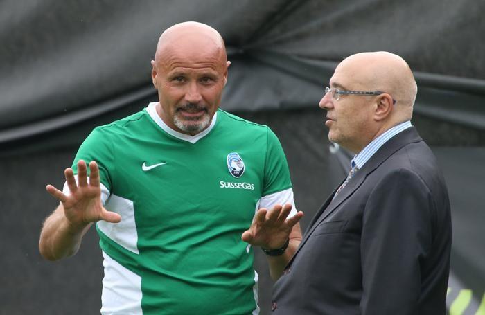 Stefano Colantuono e Pierpaolo Marino