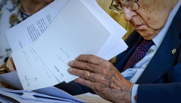 Mattarella festeggia 90 anni Napolitano