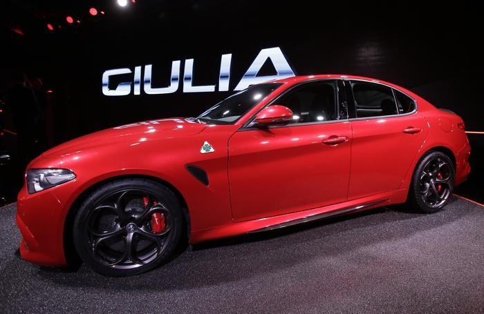 La nuova Giulia, presentata a fine giugno