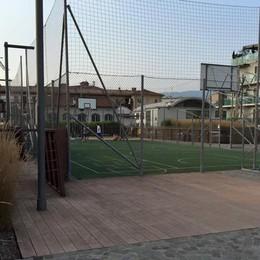 Partitina a basket sul tetto? Ora in via Moretti si può