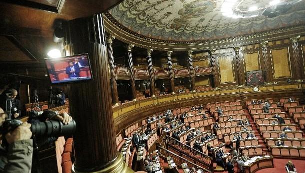 Senato: su vitalizi Lega e M5s astenuti