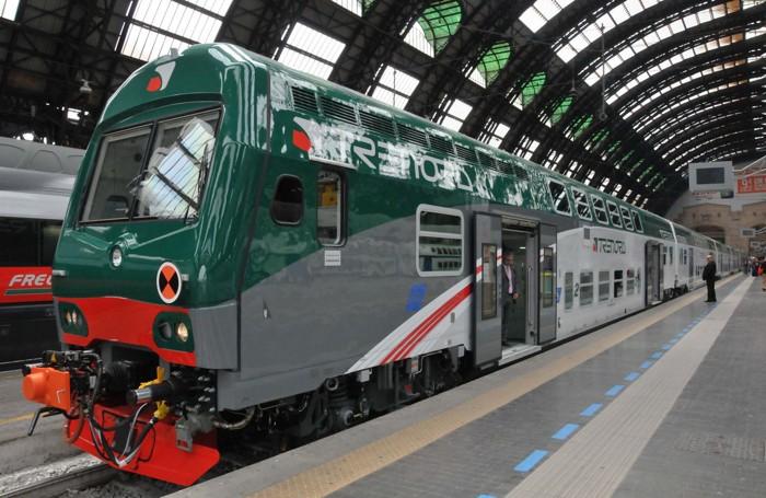 Un treno Vivalto di Trenord