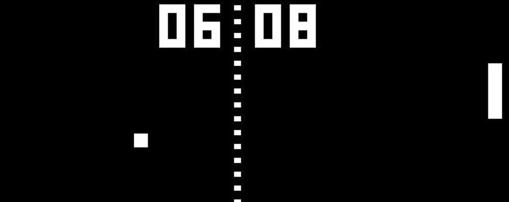 Buon compleanno «Pong» Il nonno di tutti i videogame