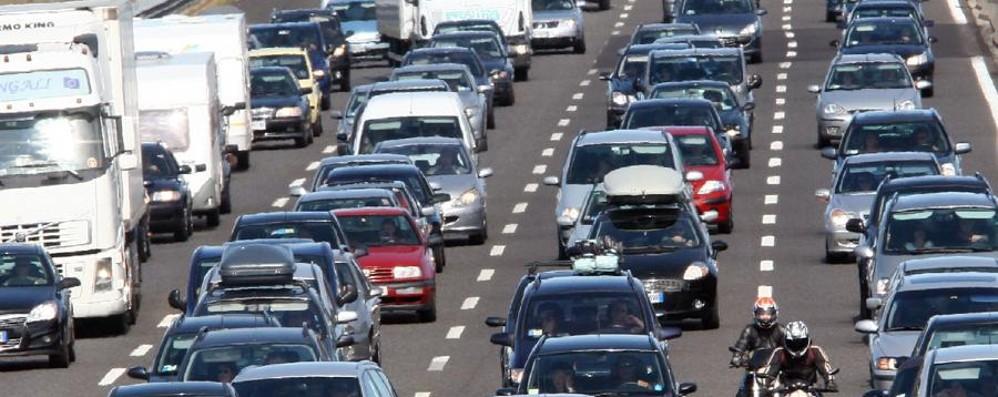 Incidente in autostrada Code tra Bergamo e Capriate