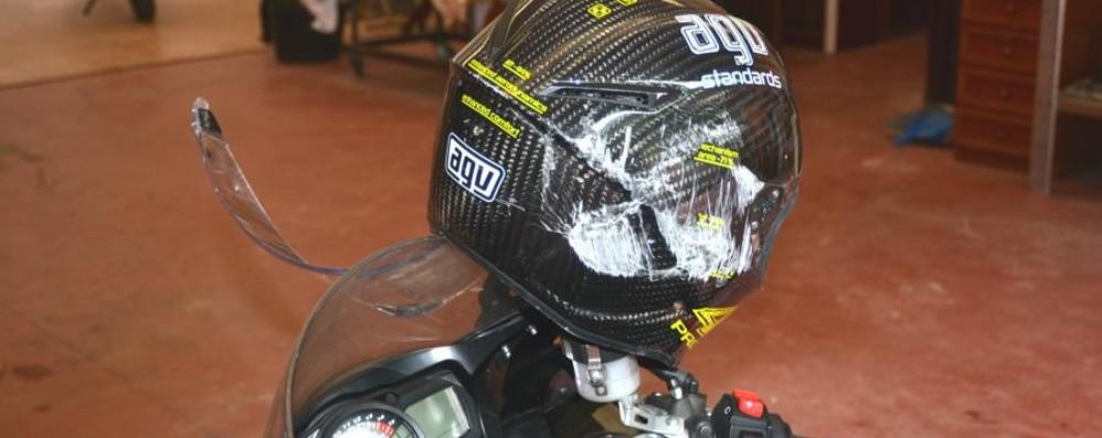 Investe un capriolo con la moto Muore un 57enne a Valnegra