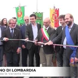 Romano di Lombardia, inaugurata la Variante Nord