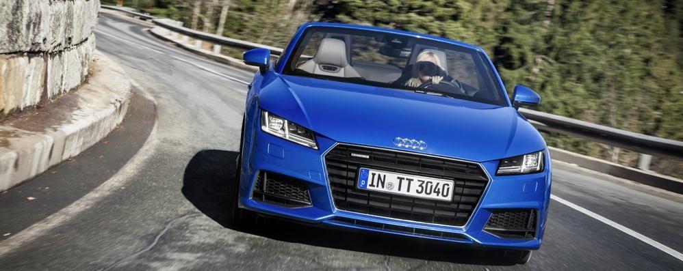 Sportivissima Audi TT Versione d'accesso da 180 Cv