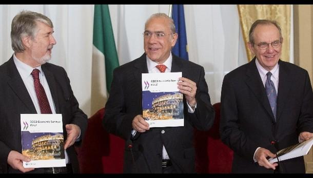 Ocse:si consolida crescita Italia e Ue