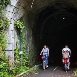 Val Brembana, petizione on line per  la luce nelle gallerie della ciclabile