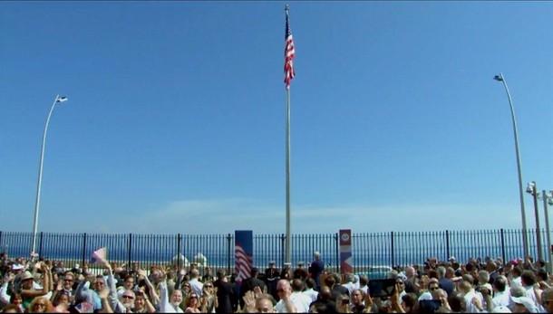 Cuba, la bandiera Usa sventola all'Avana