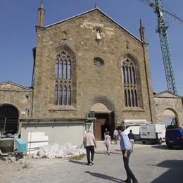 Sant'Agostino, ecco il cantiere