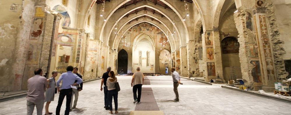 Sant'Agostino torna a splendere - il video L'antica chiesa sarà l'aula magna