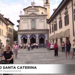 Borgo Santa Caterina, la festa per l'Apparizione