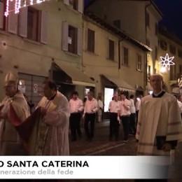 Borgo Santa Caterina, in processione per la festa dell'Apparizione